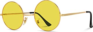 WearMe Pro - Colorful Tinted Retro Circle Sunglasses