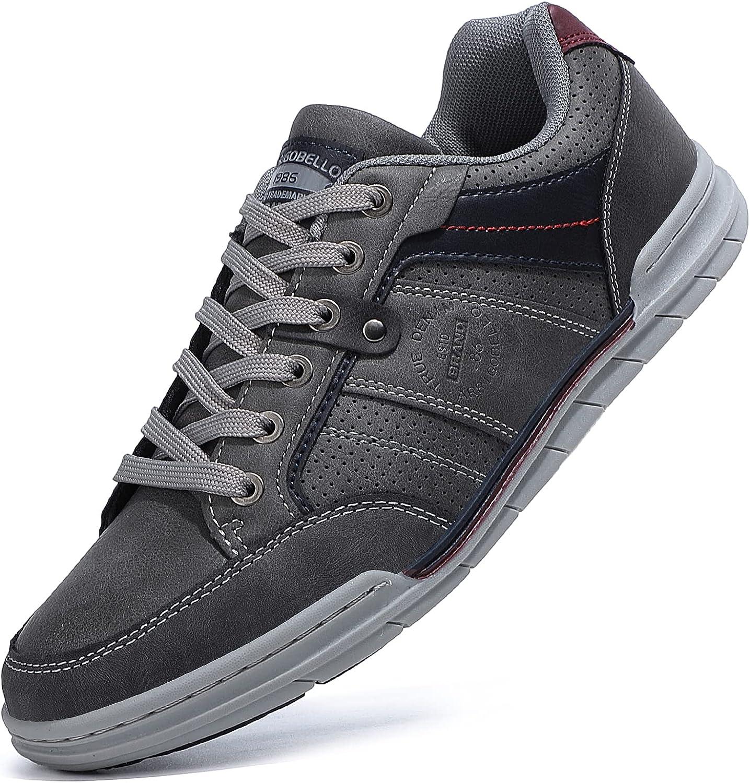 TARELO Zapatos Hombre Vestir Casual Zapatillas Deportivas Running Sneaker Respirable Walking Gimnasia Al Aire Libre Tamaño 41-46