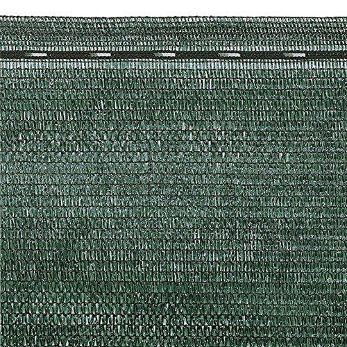 VERDELOOK Tessuto Ombra in Rotoli Oscurante al 90{e87c4d66b8e79bfb8c43fd63fc35a2ed720fe831d91ac28a52c5dfe44e41be0a}, 2x10 m, per recinzioni coperture