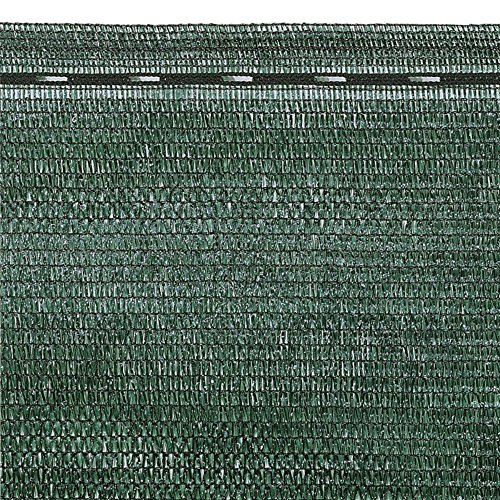VERDELOOK Tessuto Ombra in Rotoli Oscurante al 90{0a64019b96a65a21b02699a3570cd7208610bb33cd155dafd8e232bcc87afac9}, 2x10 m, per recinzioni coperture