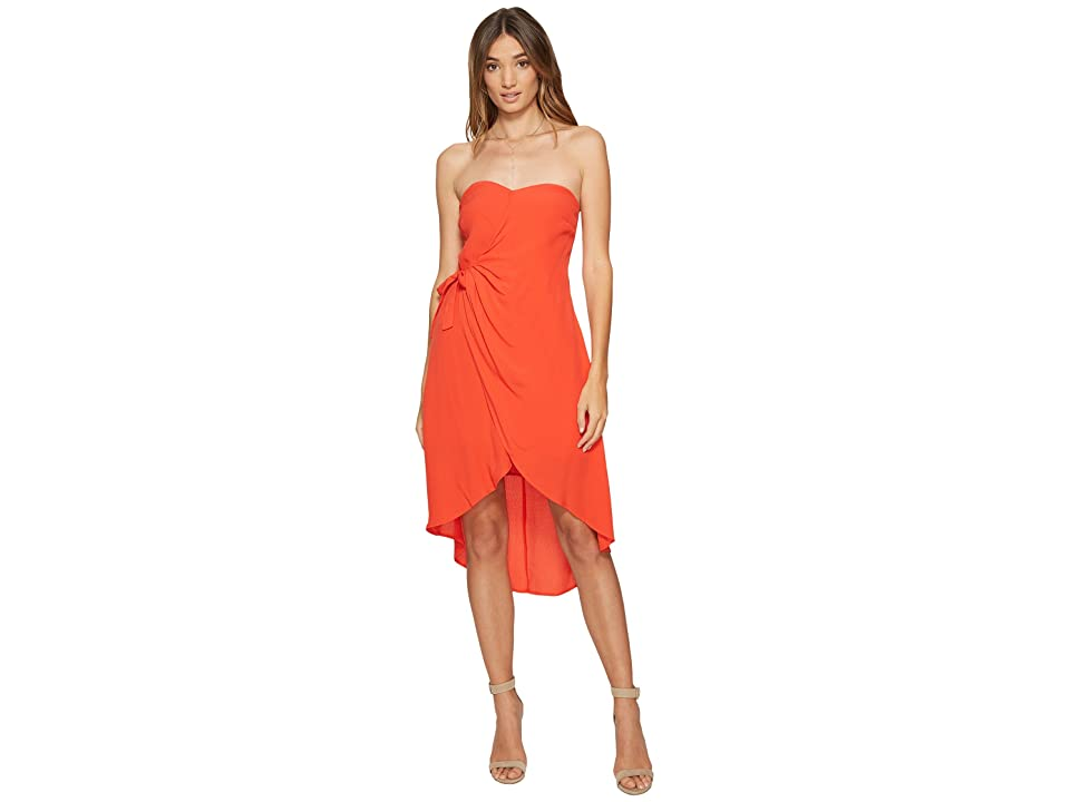 ASTR the Label Josefina Dress (Hot Red) Women