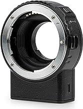 Lens Adapter NF-M1 Auto-Focus Lens Converter Compatible with Nikon F Mount Lens to MFT Camera GH4 GH5 GH5S GF1 GF5 GX1 GX7 GX9 G9 E-M1I E-M5 E-M10 E-M10III E-PL5 Pen-F BMPCC 4K