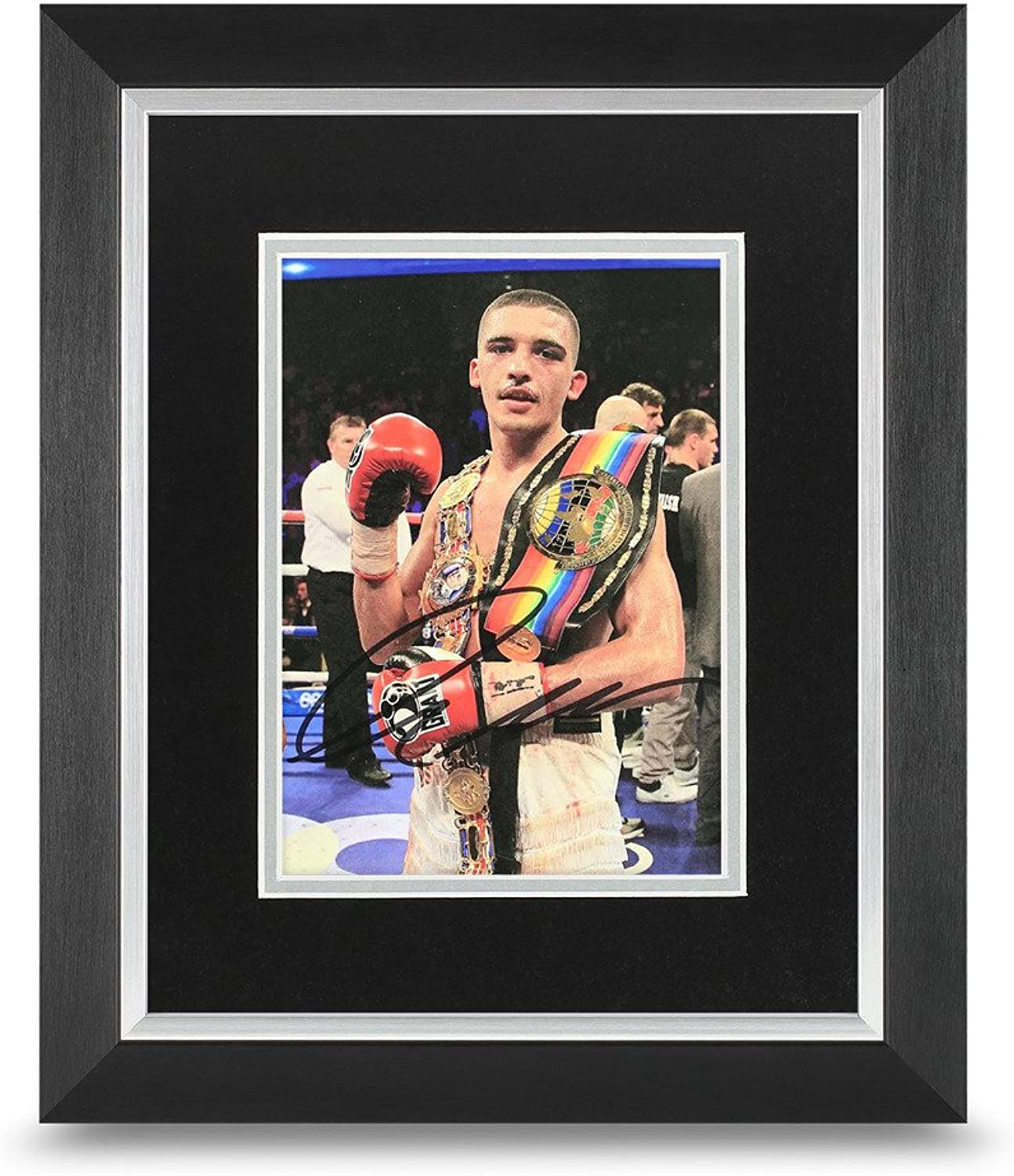 Lee Selby Signed 10x8 Photo Framed Boxing Champion Memorabilia Autograph + COA