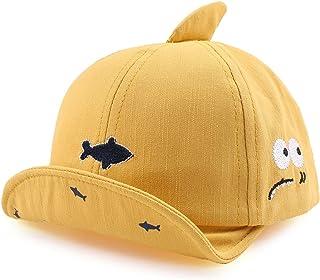 XIAOHAWANG Coton Fille Garçon Bébé Casquette Réglable Chapeau de Soleil pour Bébé Printemps Été Bonnet 3 à 12 Mois