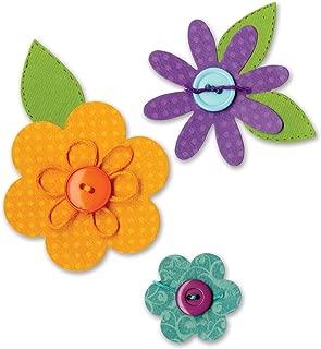 Sizzix 656784 Bigz Die Flower Layers & Leaves by Dena Designs (fabi Edition), Multicolor