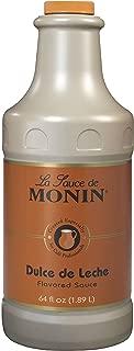 Monin Dulce de Leche Flavored Sauce 64 fl oz (1.89 liters)
