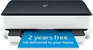 HP Envy 6075 Wireless All-in-One Printer, Includes 2 Years of Ink Delivered, Mobile Print, Scan & Copy, Compatible with Al...