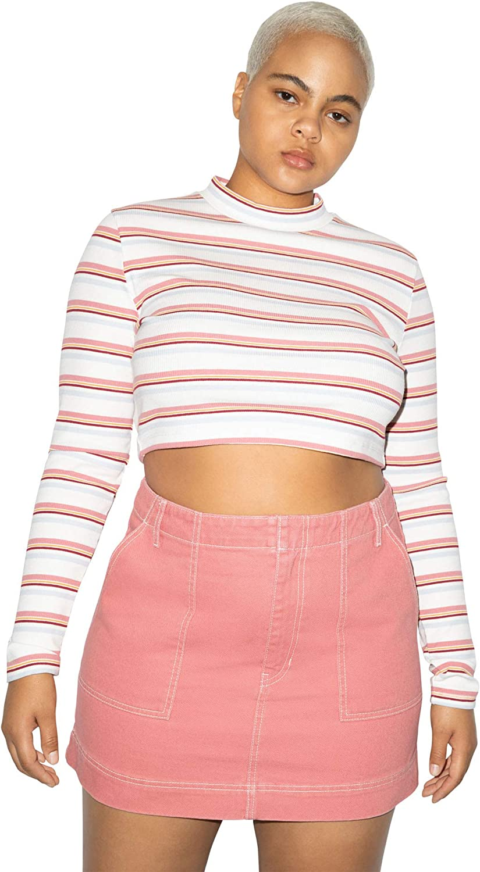 Gifts Phoenix Mall American Apparel Women's Mini Skirt Utility