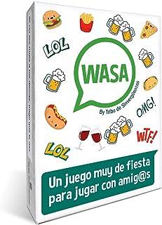 🤣 WASA 🤣 – Juego de Mesa - Juego de Cartas para Fiestas y Risas. 🔥
