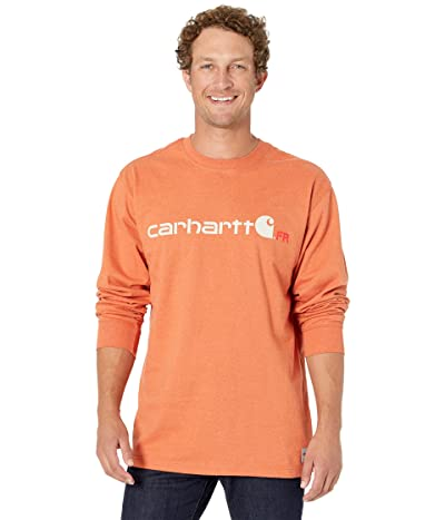 Carhartt Flame Resistant Force Original Fit Midweight Long Sleeve Logo Graphic T Shirt