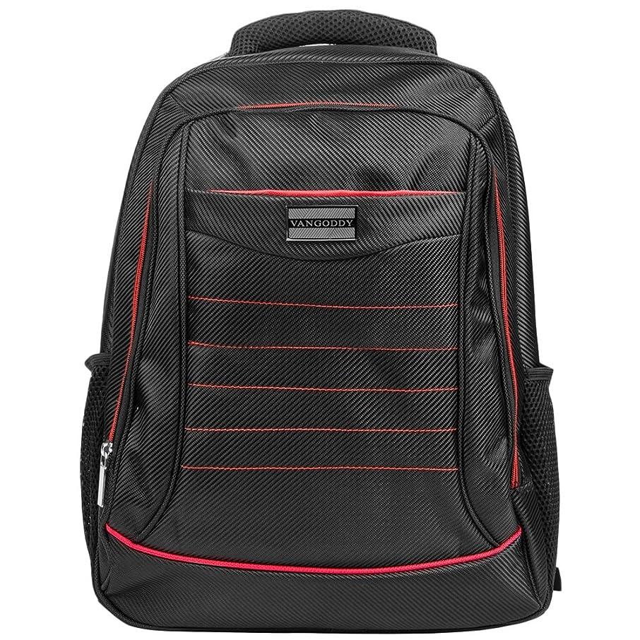 Vangoddy Unisex Luggage & Travel Bags Laptop Backpack Student School Shoulder Bag Satchel (Red) for HP 15z / Envy x360 / Envy 17 / Omen 15t 17t / ProBook Series 15.6