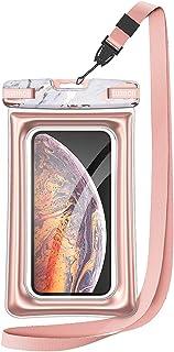 SURITCH Funda Impermeable TPU + PU Case Bolsa Impermeable Transparente Funda contra Agua para iPhone X/XR/11 Pro MAX/7, Sa...