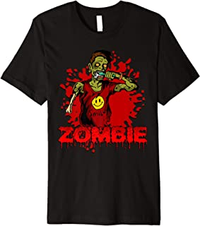 Zombie Brush Your Teeth Halloween Party Undead T Shirt