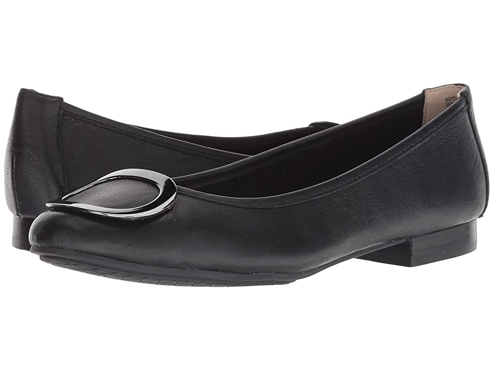 Me Too Sena (Black/Gunmetal Goat Spore Leather) Women