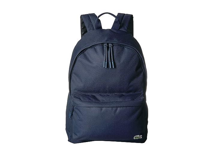 Lacoste Backpack (Eclipse Blue/Cobalt) Backpack Bags