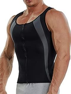Sauna Sweat Vest Mens Abs Chest Firm Control Slimming Quema Grasa Adelgazar