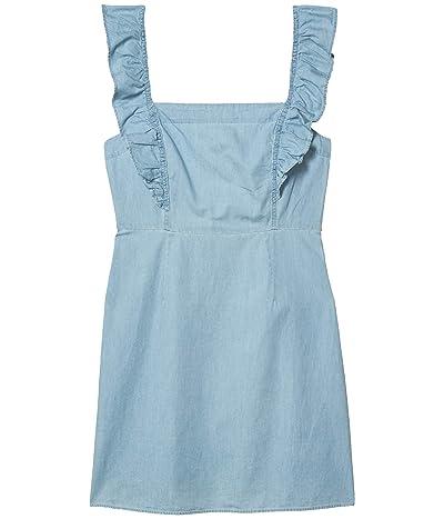 Jack by BB Dakota Dress with Flutter Straps (Chambray) Women