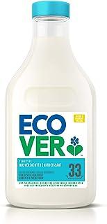 Ecover Wasverzachter, geur roze/bergamot, natuurlijke herkomst, zacht voor je huid/wasgoed, 33 toepassingen, wit, 1000 mil...