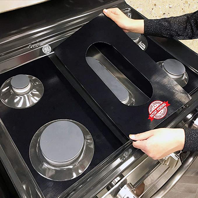 Large Appliance Accessories Easy Cleaning Stove Liners for GE ...