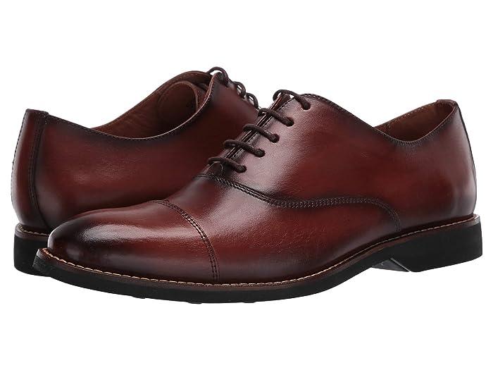Massimo Matteo  Bona Fine Cap Toe (Bronze) Mens Shoes