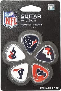 Woodrow Guitar by The Sports Vault NFL Unisex NFL Guitar Picks, 10 Pack