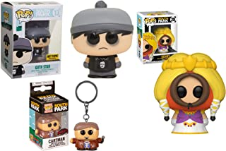 Colorado Misfits - Pocket Pop! Funko Pop!South Park Bundle (3 piezas) Goth Stan 13 Store Exclusivo/Kenny (Princesa) 28/Preacher Cartman Pocket Pop! Exclusivo
