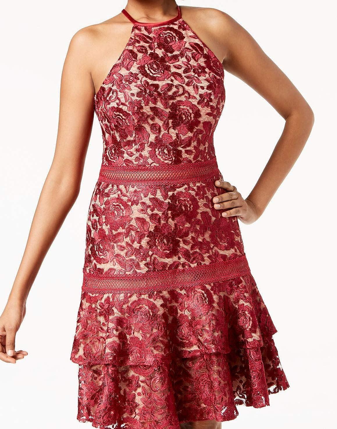 Xscape Women's Lace Halter Dress