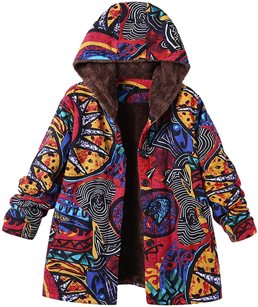 Seasonal Wrap Introduction ♥ETHELDING♥ Floral Print Coats Outwear Womens New Free Shipping Hooded
