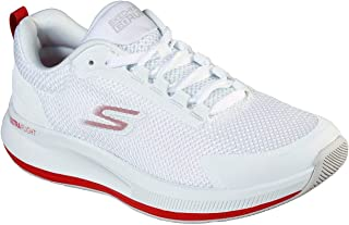 حذاء الجري Go Run Pulse للنساء من Skechers - Validate، أبيض/أحمر