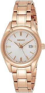 SEIKO Classic Quartz White Dial Ladies Watch - SUR630P1