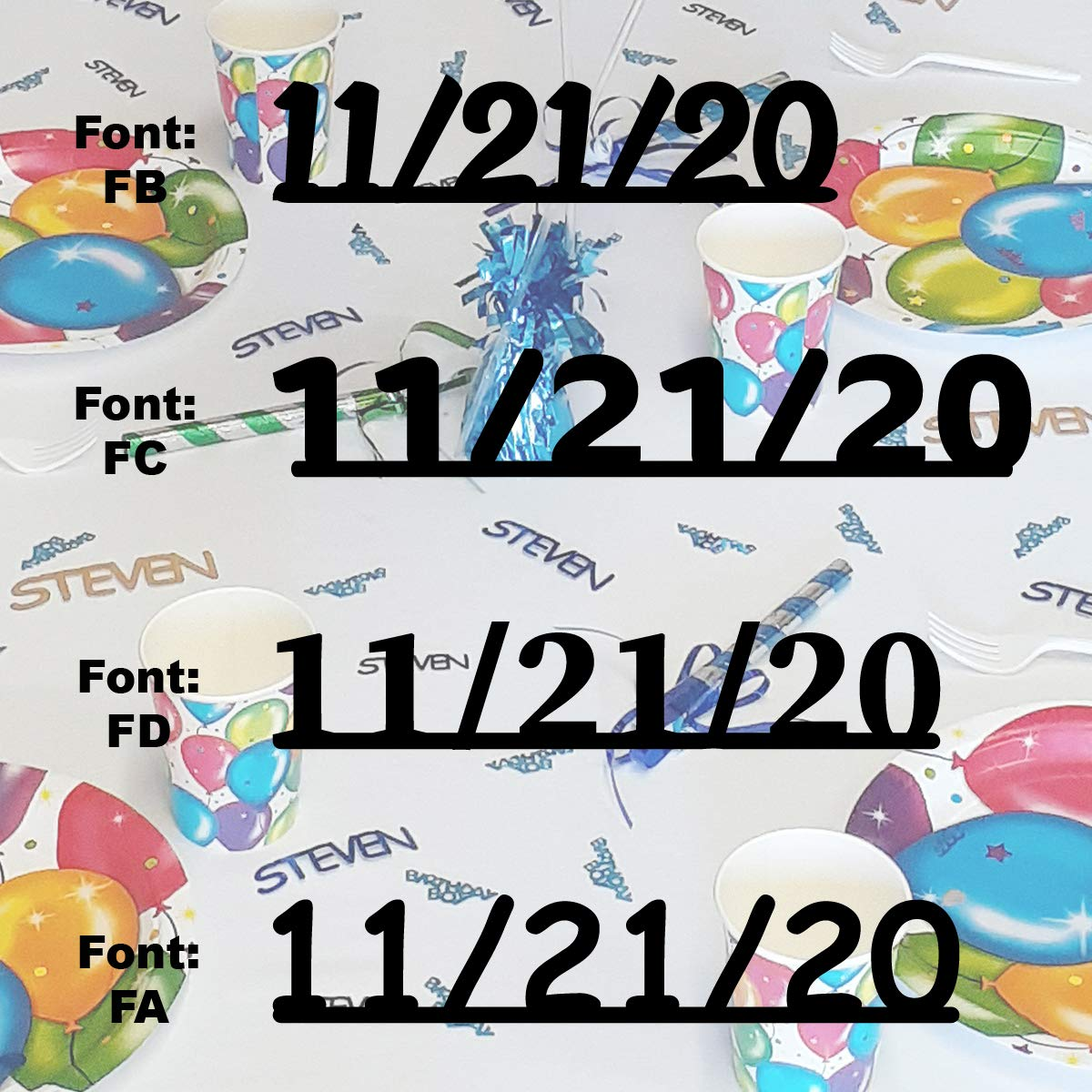 11 SEAL limited product 21 20 Los Angeles Mall - Date Confetti in Confett Includes Colors. 12 Metallic