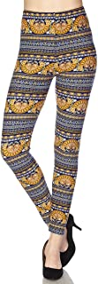 Printed Brushed Buttery Soft Leggings Regular and Plus