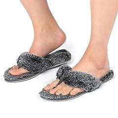 cf2983b3aa092d RockDove Women s Faux Fur Spa Slide with Memory Foam
