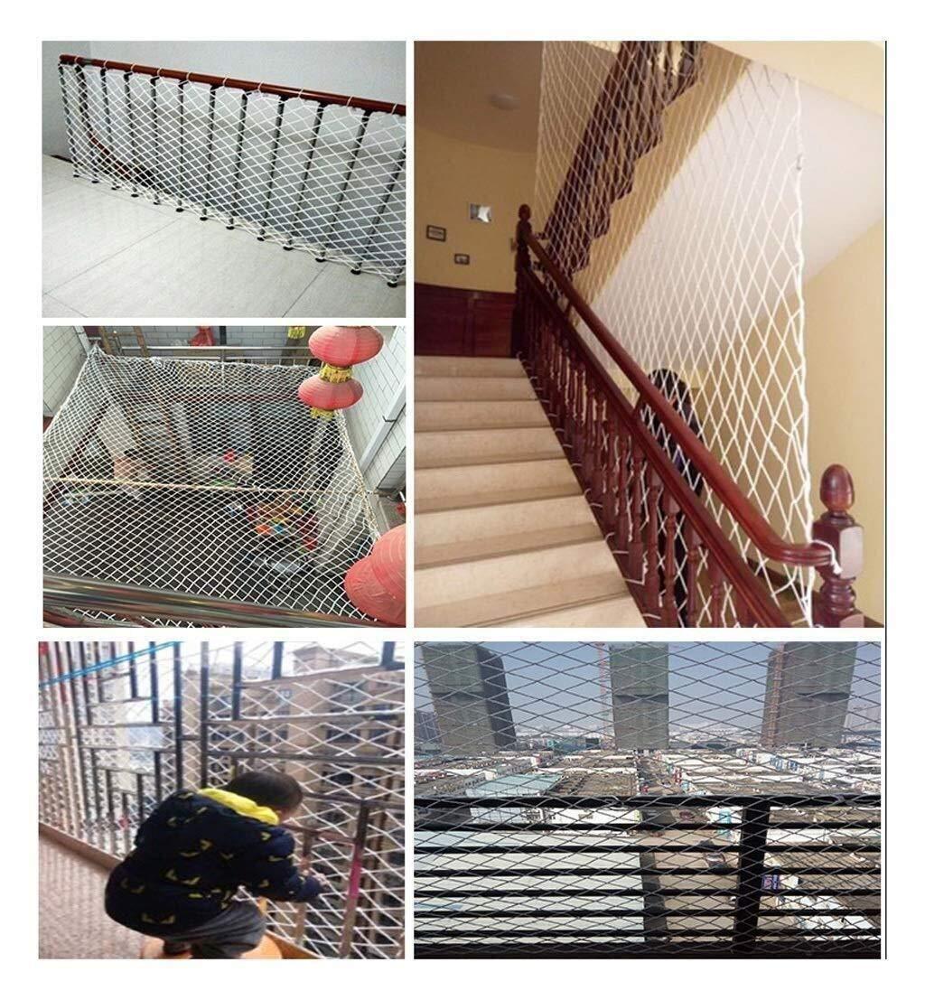 Red de protección Red seguridad Infantil Red De Cercas Portátil, Decoración De Jardín Red Balcón Red De Seguridad Escaleras Niños Anti-caída Red De Escalada Guardería Red De Guardería Disponible En Un: Amazon.es:
