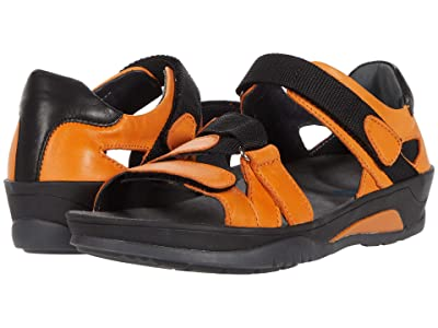 Wolky Ripple (Orange Savana Leather) Women