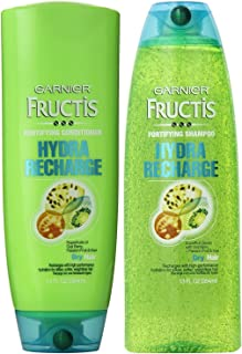 Garnier Fructis Hydra Recharge for Normal to Dry Hair, DUO Set Shampoo + Conditioner, 13 Ounce, 1 each