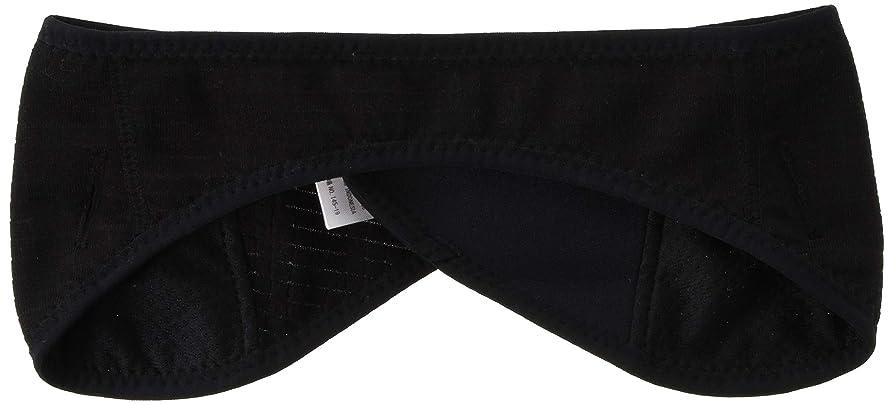 くつろぎ九月猟犬[パールイズミ] 82 イアー ウォーマ ブラック 日本 F (FREE サイズ)