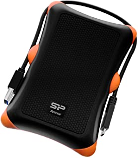 "Silicon Power 2TB Type C USB 3.1 Gen 1 (USB 3.0) Rugged Armor A30 Military-Grade Shockproof LED Light 2.5"" Portable Extern..."