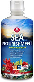 Olympian Labs Sea Nourishment-Liquid Vitamin Supplement | High Absorption Nutritional Multivitamin Supplement