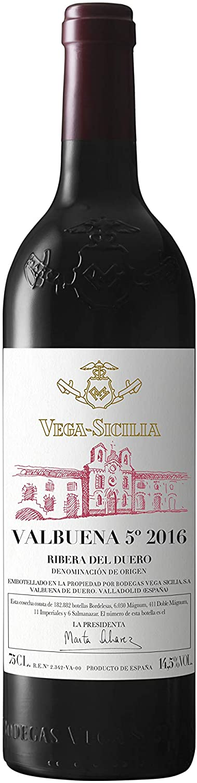 VALBUENA Vino Rojo Intenso, 5º 2016-750 ml