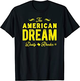 dusty rhodes american dream t shirt