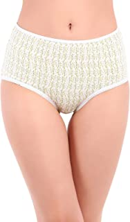 Clovia Cotton High Waist Printed Hipster Panty