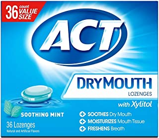 ACT Dry Mouth Lozenges Soothing