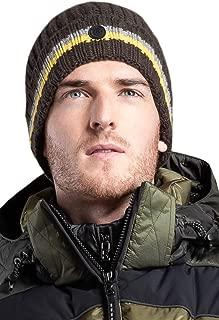 EM-EL Bogner Sport Men's Mero Cashmere Knit Hat