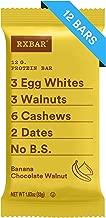 RXBAR, Banana Chocolate Walnut, Protein Bar, Breakfast Bar, High Protein Snack, 1.83 Ounce, Pack of 12