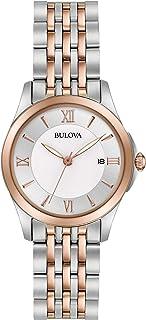 Bulova - Women's Quartz Stainless Steel Casual watchMulti Color (Model: 98M125)