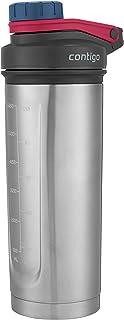 Contigo THERMALOCK Shake & Go Fit Stainless Steel Shaker Bottle, 24 oz, Dusted Navy