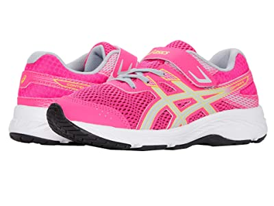 ASICS Kids GEL-Contend 6 (Toddler/Little Kid) (Pink Glo/Piedmont Grey) Girls Shoes