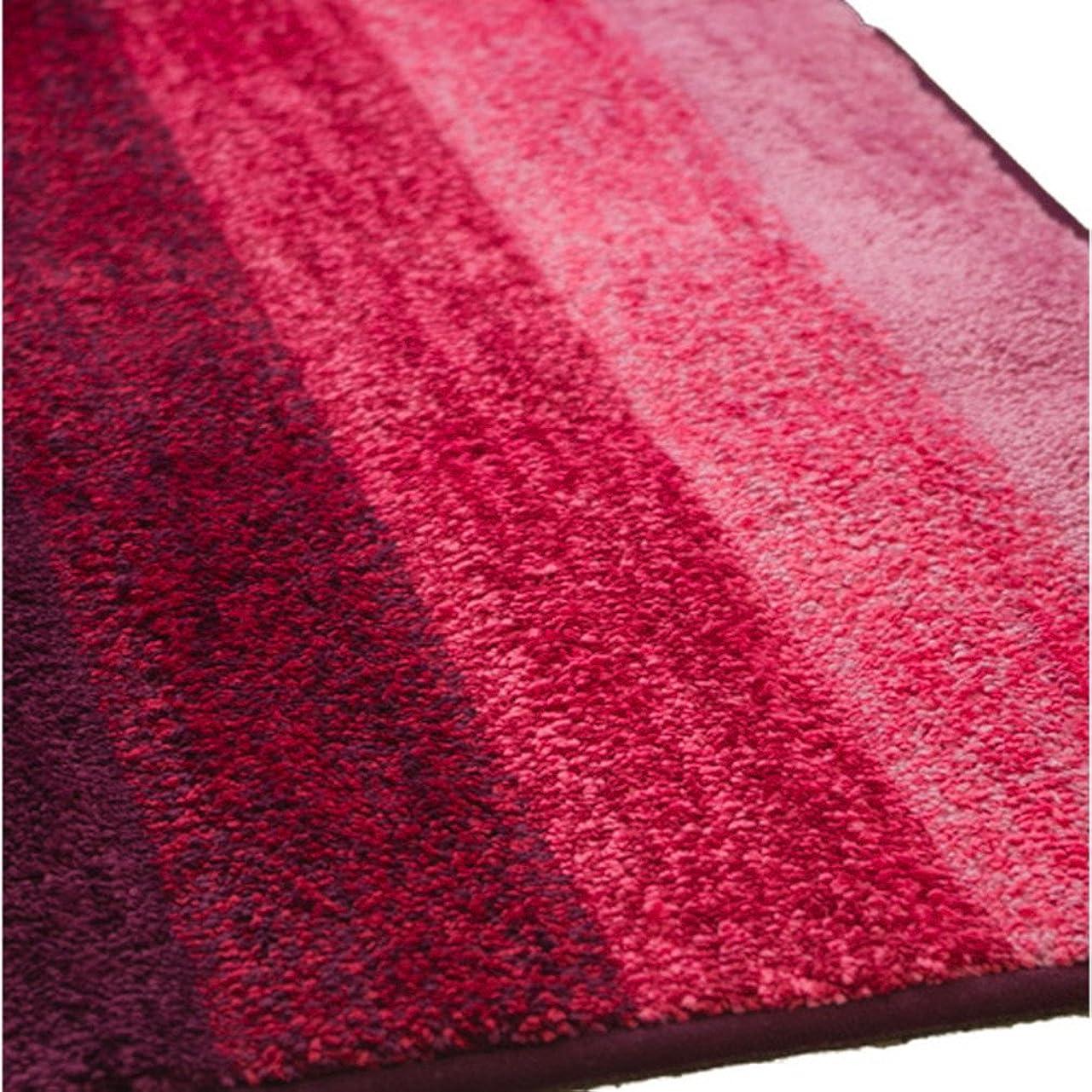 引数農夫確認するアーリエ(Arie) キッチンマット ピンク サイズ:幅45×丈180cm