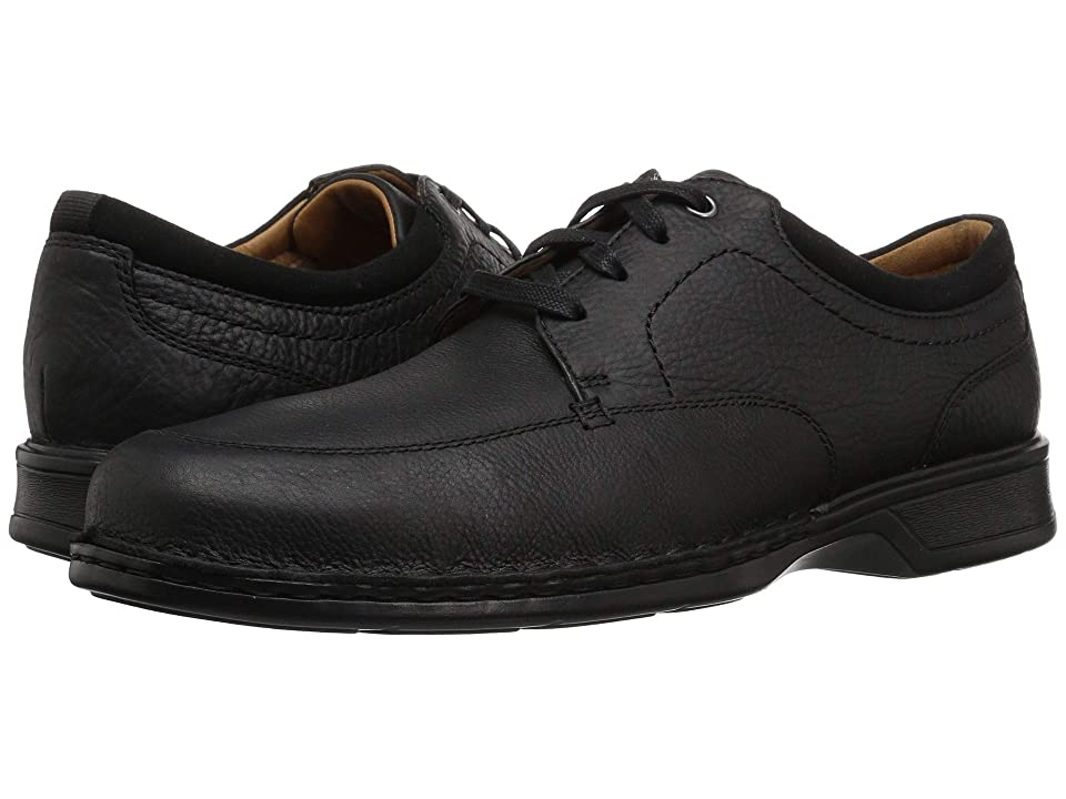 Clarks Northam Pace (Black Oily Leather) Men